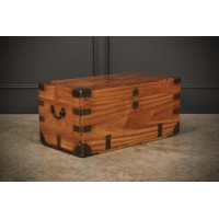 Military Camphor Wood Trunk