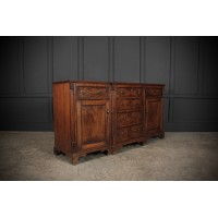 18th Century Solid Oak Sideboard