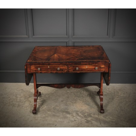 Magnificent Regency Rosewood Sofa Table