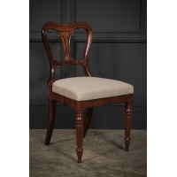 William IV Rosewood Kidney Back Chair