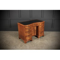 Queen Anne Style Walnut Desk