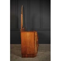 Art Deco Walnut Dressing Table