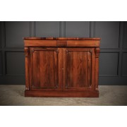 William IV Rosewood Chiffonier Side Cabinet