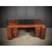 Magnificent Rosewood Art Deco Freestanding Desk