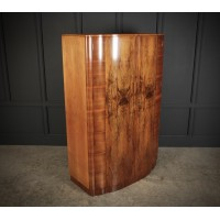 Art Deco Figured Walnut Wardrobe