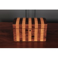 Rosewood & Satinwood Trinket Box