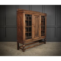 Oak Glazed Display Cabinet