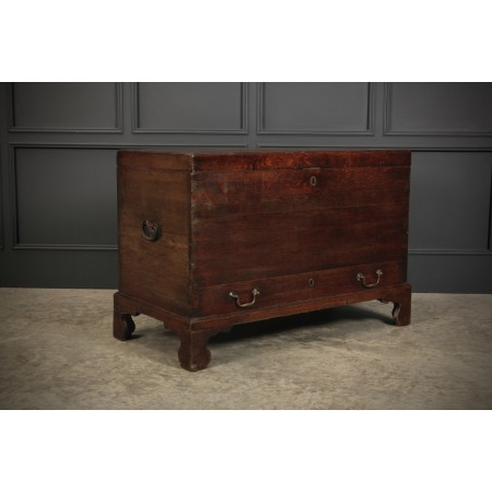 18th Century Oak Silver Chest