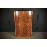 Figured Walnut Art Deco Wardrobe