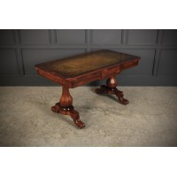Rosewood Writing Table Desk