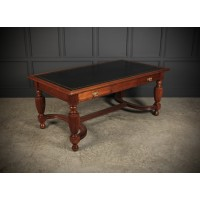 Large Walnut Partners Writing Table