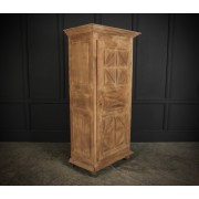 Slim Bleached Oak Cupboard