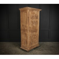 Slim Bleached Oak Cupboard