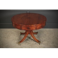 Georgian Mahogany Drum Table