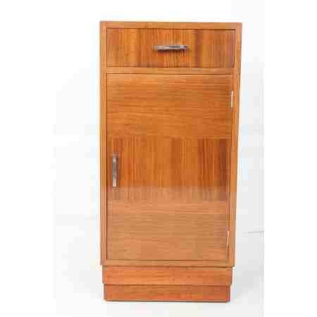 Art Deco Walnut Side Cabinet