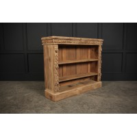 Raw Oak Open Bookcase