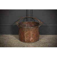 Large Victorian Copper Cauldron