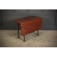 Georgian Mahogany Drop Leaf Side Table