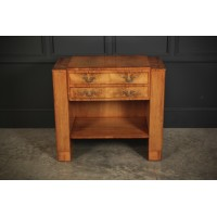 Rare Epstein Walnut Art Deco Cutlery Sideboard