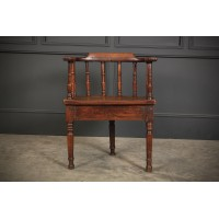 18th Century Oak Cricket Chair