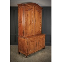 Large 18th Century Cherry Wood Cabinet
