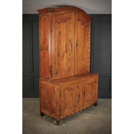 Large 18th Century Cherry Wood Cabinet