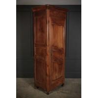 Slim 18th Century French Cherrywood Armoire