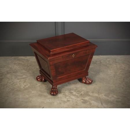 William IV Mahogany Sarcophagus Box