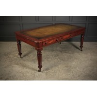 Fine Victorian Mahogany Partners Writing Table