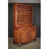 Large Cherrywood & Walnut Dresser