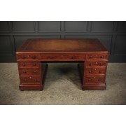 Victorian Mahogany Large Partners Desk