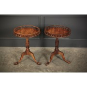 Pair of Occasional Wine Tables