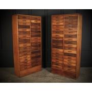 Large Pair of Haberdashery Cabinets
