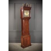 18th Century Mahogany Longcase Clock