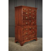 Early 18th Century Walnut Chest on Chest