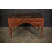 Victorian Oak Writing Desk