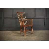 Elm Comb Back Windsor Chair