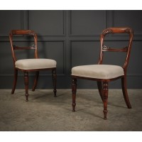 Pair of William IV Rosewood Chairs