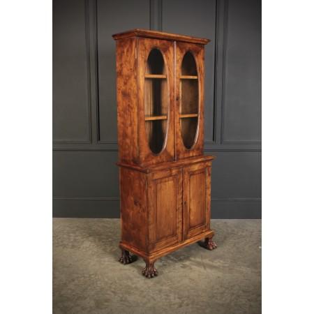 Rare Elm Bookcase