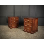 Pair of Walnut Chests