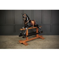 Large Lacquered Rocking Horse