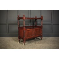 Victorian Mahogany Buffet With Cabinet