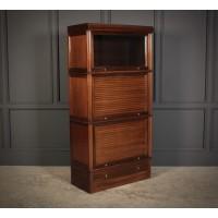 Mahogany Stacking Sectional Bookcase