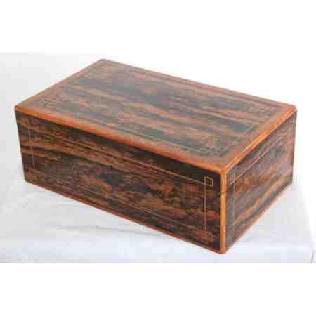 Rare coromandel jewellery box