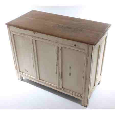 Painted Oak Distressed Coffer