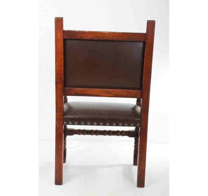oak and leather dining chairs set of 8 oak and leather dining chairs 6 2 7123