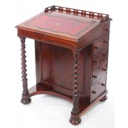 19th Century Rosewood Davenport Small Desk