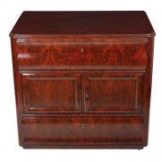 Low Biedermier Continental Shaped Chest