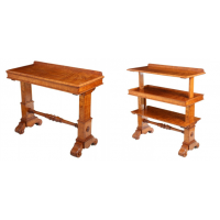 Metamorphic Pollard Oak Three Tier Buffet