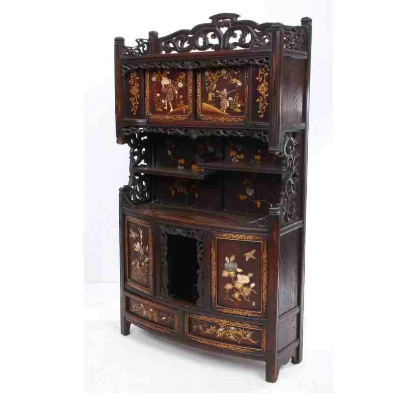 Japanese Kitchen Cabinets: Japanese Shodana Cabinet
